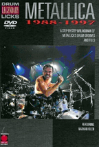 Legendary Drum Licks - Metallica 1988-1997
