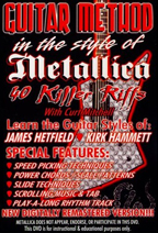 Guitar Method: In The Style Of Metallica - 40 Killer Riffs